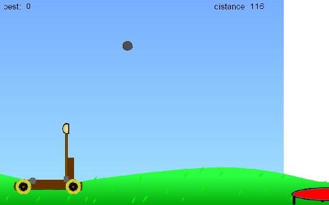 Online hra Catapult