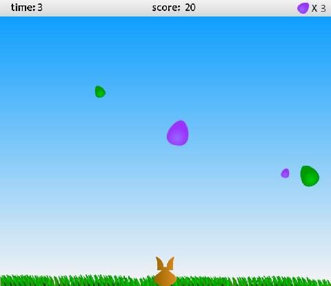 Online hra Chytání vajíček