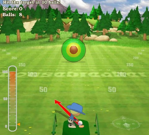 Online hra Hra Golf