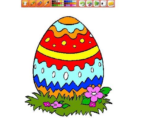 Online hra Malování vajíčka