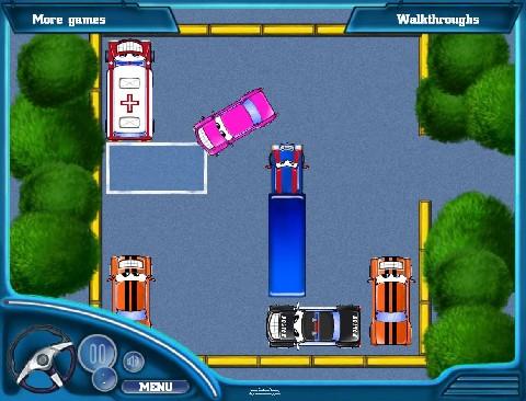 Online hra Parkování hra