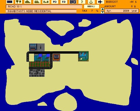 Online hra Sim City