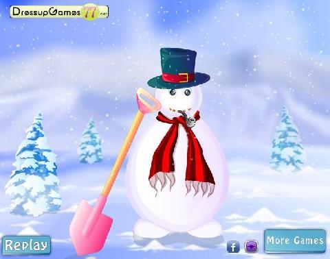 Online hra Sněhulák