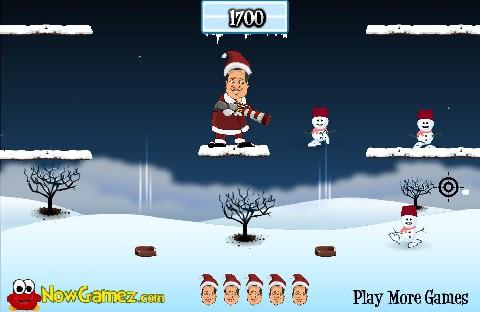 Online hra SnowBall Launcher