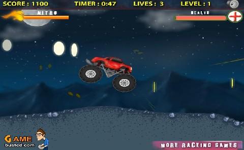 Online hra Storm truck