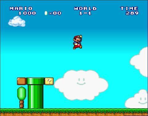 Online hra Super Mario