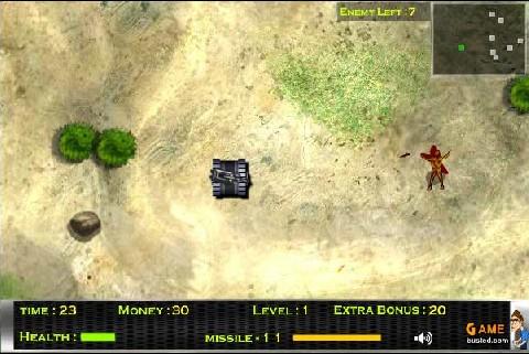 Online hra Tanky