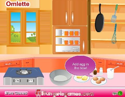 Online hra Vaření snídaně