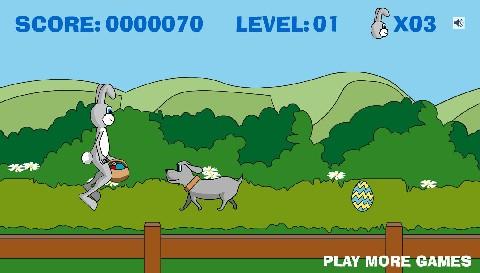 Online hra Velikonoční králíček